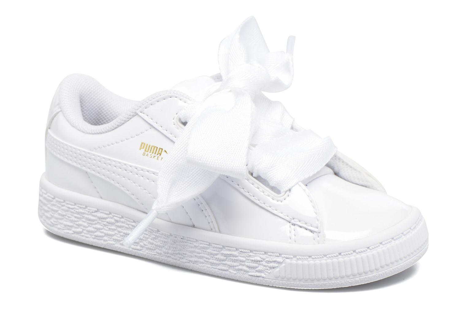 puma basket wit