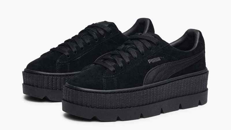 puma creepers black
